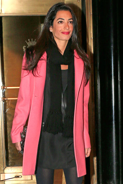 from Henry george clooney started dating amal