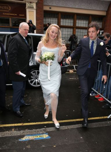 Jerry-Hall-arrives-at-St-Brides-Church-on-Fleet-Street-with-her-son-James-Jagger.jpg